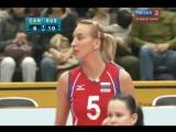 31.10.2010. Волейбол. Чемпионат мира. Женщины. Канада - Россия