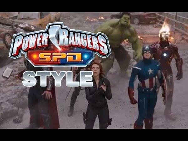 The Avengers (Power Rangers S.P.D. STYLE)
