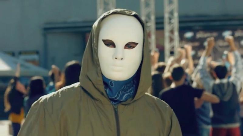 Рэпер в маске Как закалялся стайл