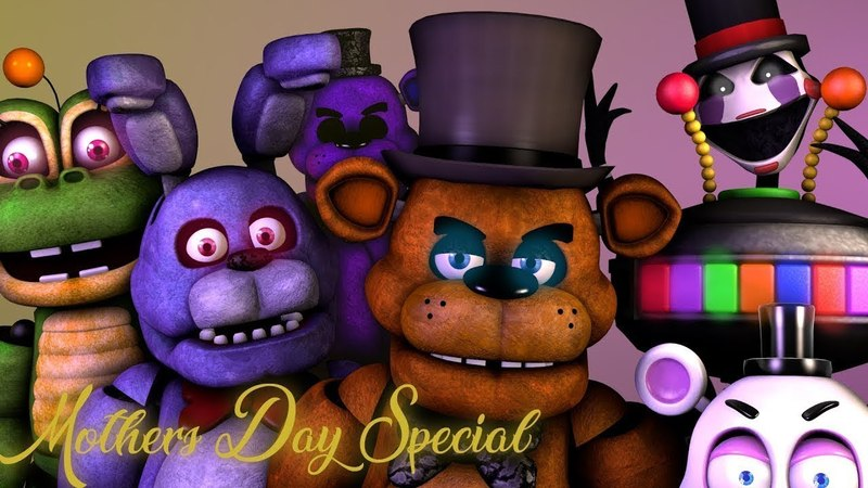 FNAF SFM Mothers Day Alternate Ending FUNNY FNaF 6 Special Five Nights at Freddy's Animations