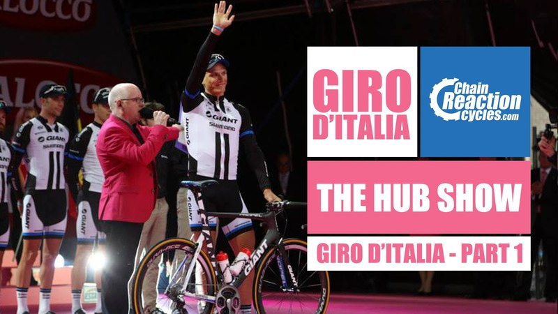 The Hub Show at the Giro dItalia Big Start 2014 - Part 1