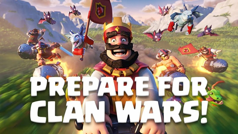 Clash Royale: CLAN WARS IS HERE!