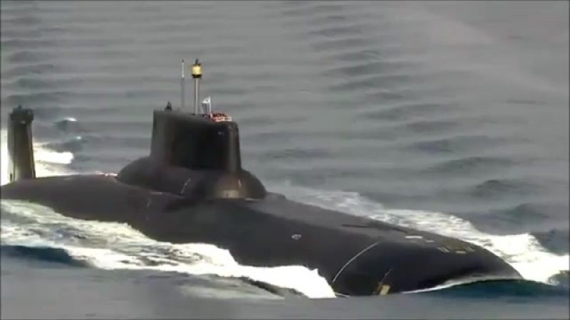 Russia sends the worlds largest submarine dmitry donskoy to the Baltic Sea