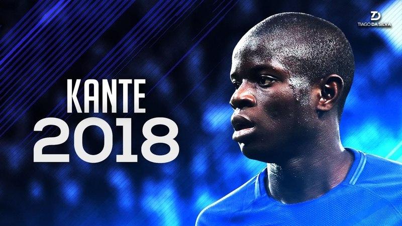 N'Golo Kante 2018 • Blue Diamond - Crazy Defensive Skills Dribbles | HD