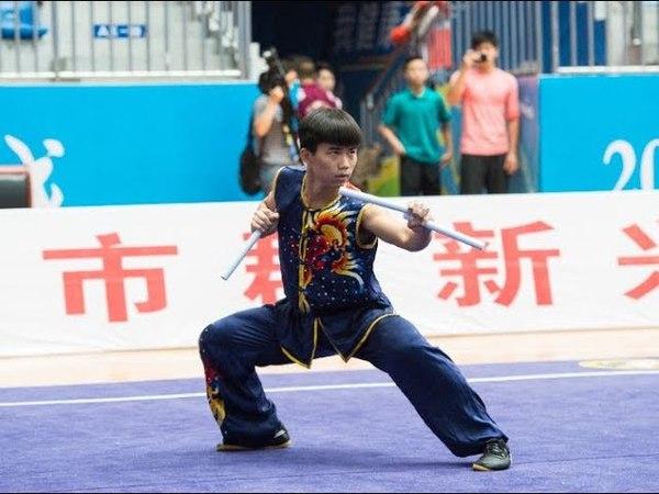 男子双节棍 第九名 广东队 曾繁勇 8.67分