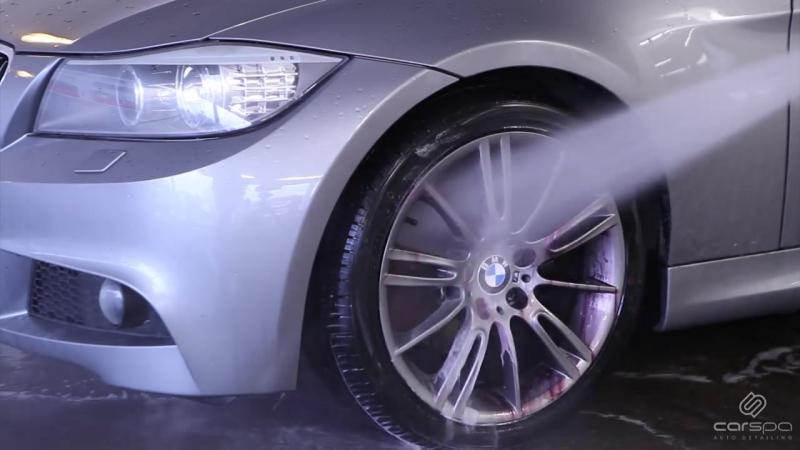 Wheel detailing - Koch Chemie Reactive Wheel Cleaner