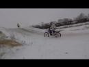 10.12.17. Новодвинск. Открытие зимнего сезона по мотокроссу. Без шипов.