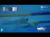 Сборная России выиграла эстафету 4x50 м вольным стилем на ЧЕ по плаванию на коро