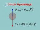 Физика Гидростатика и аэростатика 17 лекция