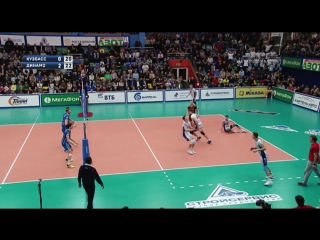 HIGHLIGHTS. Кузбасс — Динамо Москва Суперлига 2017-18. За 3-место. Мужчины