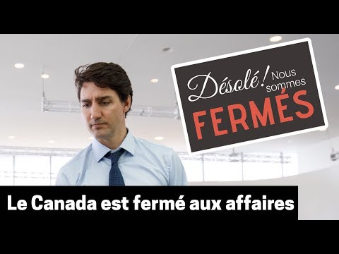 Le Canada est fermé aux affaires Andrew Scheer