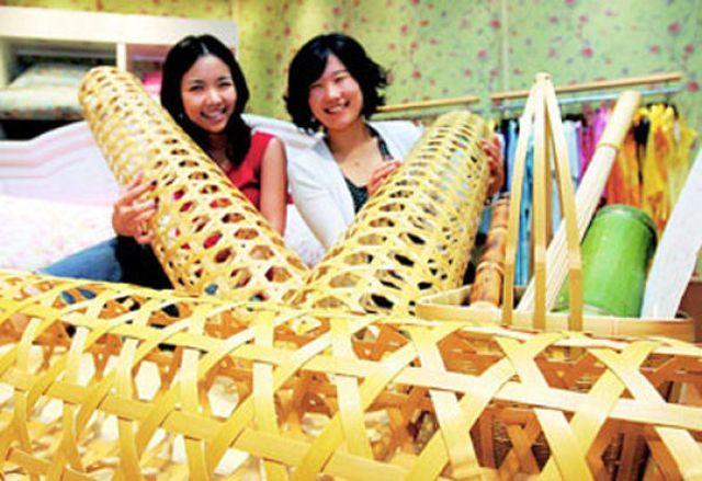 Для чего нужно это бамбуковое изделие номер один?