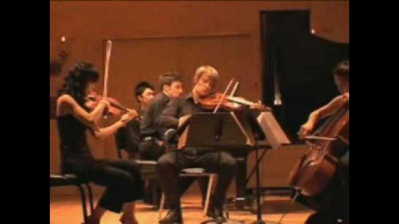 Schumann Piano Quartet, mvt. 3