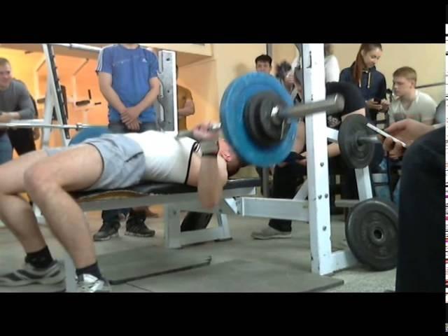 Каштанов С, СВ=86 кг, 75 кг на 32 повт, 25-04-2014