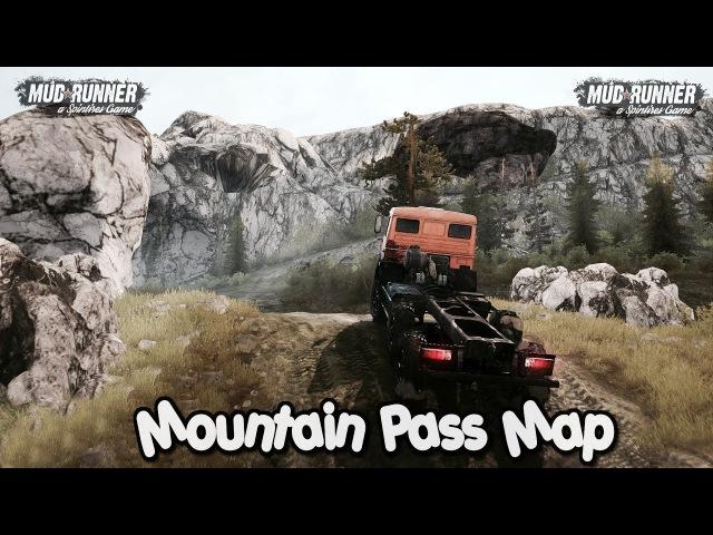 Mountain Pass Map 2018 (v11.12.17)   SpinTires Mudrunner