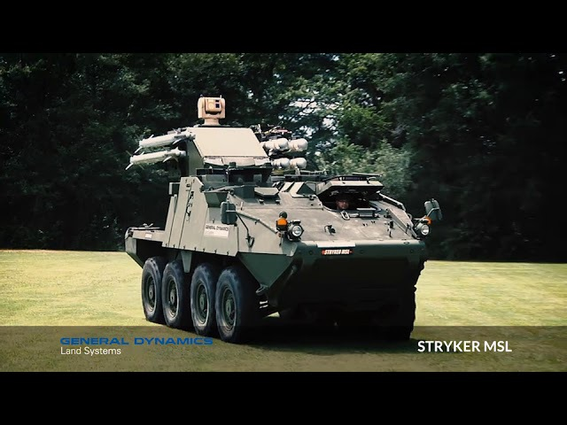 Stryker MSL: Game over