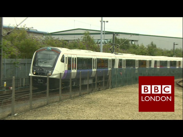 A look at the new Crossrail trains – BBC London News