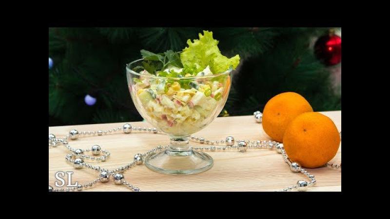 Самый Вкусный Салат с Крабовыми Палочками Рецепт Просто Бомба