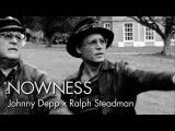 Johnny Depp and Ralph Steadman in