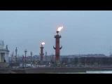 27 января День снятия блокады города Ленинграда. Ростральные колонны.