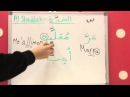 Part 2 Al Tanween and Al Shaddah and Different Alef and Hamza Shapes lesson 7