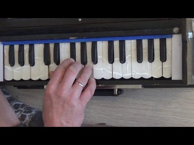 Обучение на фисгармонии. 108 мелодий екатеринбургских харинам. Гуру-вандана (на мелодию Гурудева)