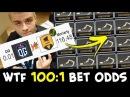 1001 BET ODDS — WTF OG vs random pub stack