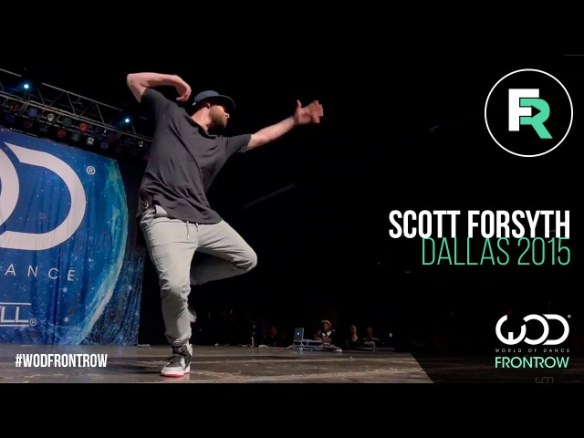 Scott Forsyth | FRONTROW | World of Dance Dallas 2015 WODDALLAS2015