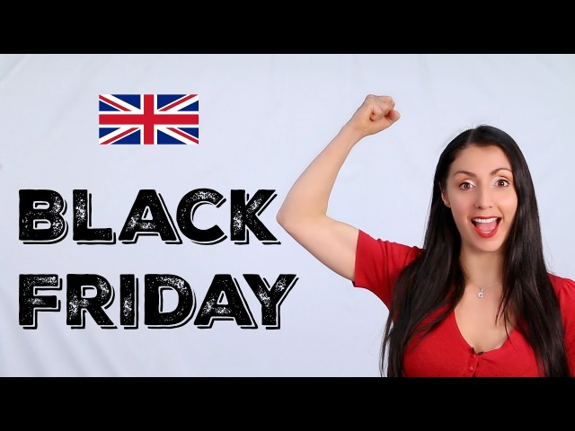 Black Friday 10 More 'Black' English Phrases Learn English with Anna English