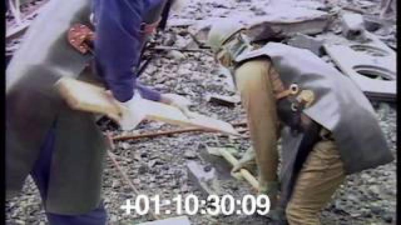 1986 09 Очистка кровель ЧАЭС Солдаты резервисты