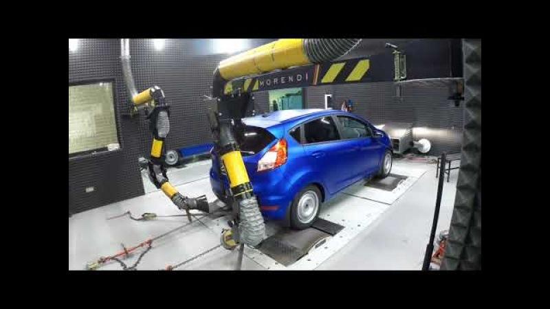 Замер штатной мощности Ford Fiesta 1.6L Duratec Ti-VCT by morendi