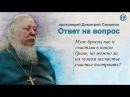 Протоиерей Димитрий Смирнов. Можно ли на чужом несчастье счастье построить