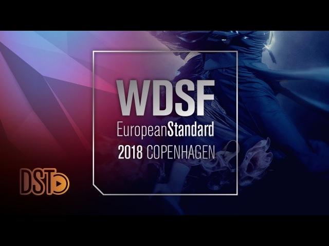 Galuppo - Pacini, ITA | 2018 European STD| R2 T | DanceSport Total