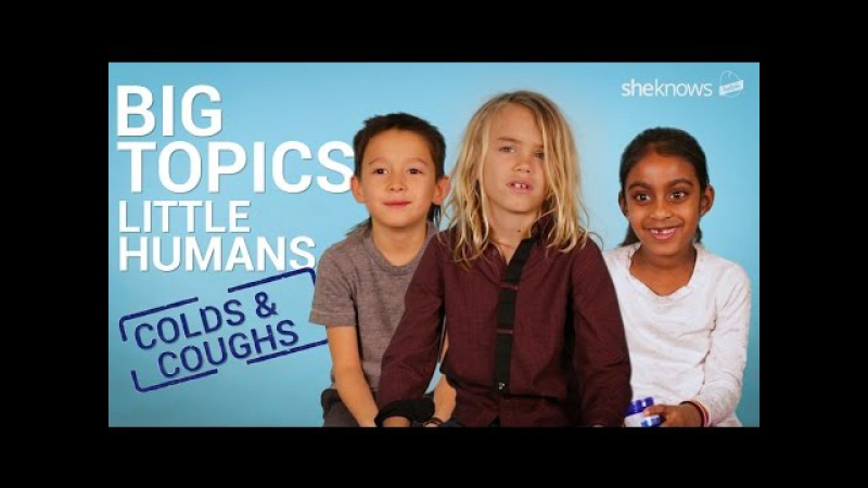 Kids discuss colds coughs