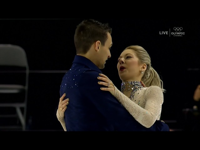 Alexa Scimeca Knierim Chris Knierim Pairs SP US Nationals | LIVE 1-4-18