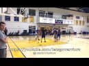 Steph Curry shooting routine, Bruce Fraser imitating Omri Casspi, Warriors AM shootaround b4 TOR