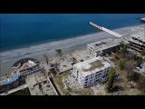 Пляж Ривьера в Сочи закроют  Ривьера с квадрокоптера