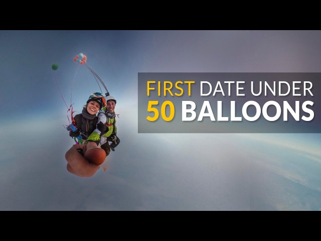 First Date Under 50 Balloons