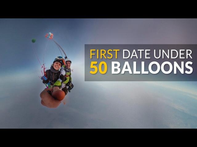 First Date Under 50 Balloons