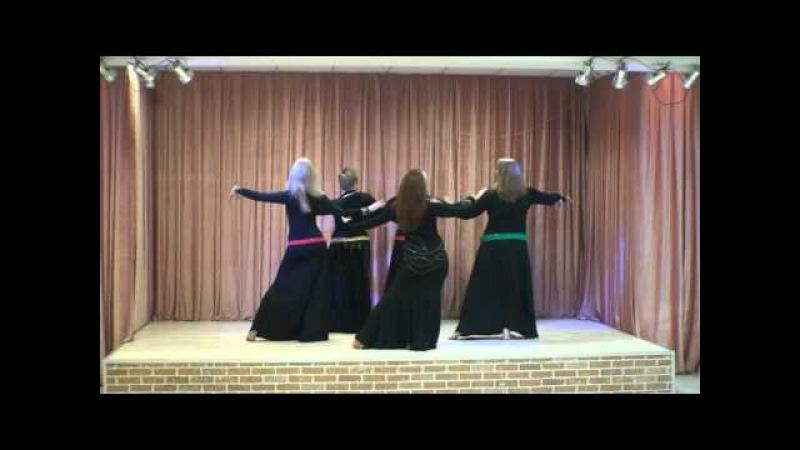 Барабаны. Арабский танец. Группа Долгих Анны.
