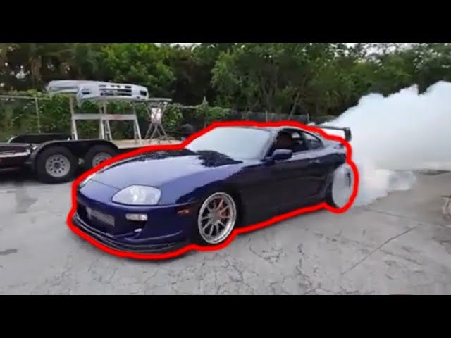 SUPRAS FROM HELL COMPILATION - The Best Toyota Supra Drifting, Burnouts, and 2 Steps!!