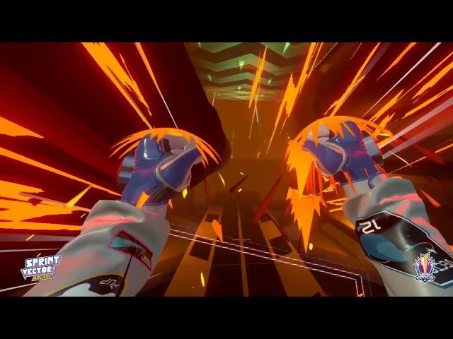 RACE WIN! SPRINT VECTOR Championship Intergalactica VR Arcade Tournament
