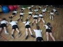 Занятие по физкультуре в детском саду. №30 г.Йошкар-Ола