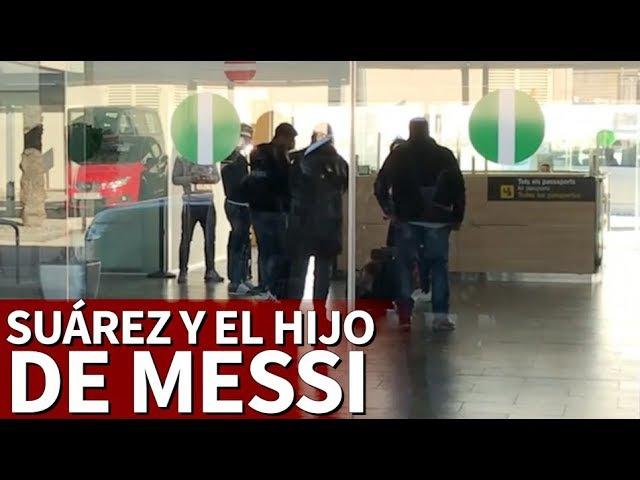 El juego de Suárez que acabó con el que hijo de Messi por el suelo