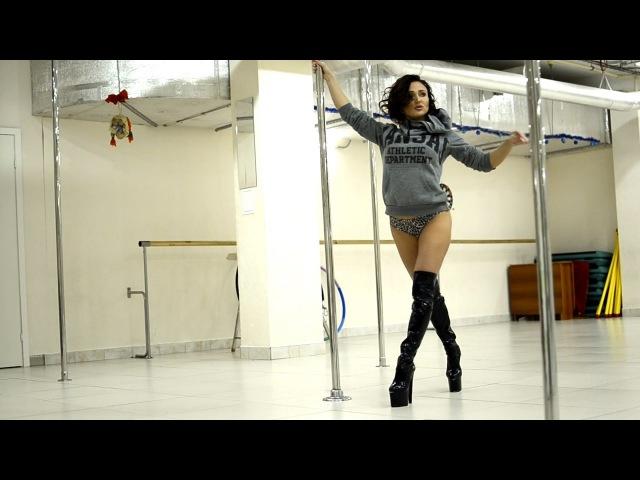 Как же она красиво танцует ♀ Pole Dance Exotic
