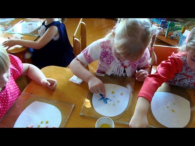 видео НОД ИЗО ТРИЗ в средней группе Букет для воспитателя