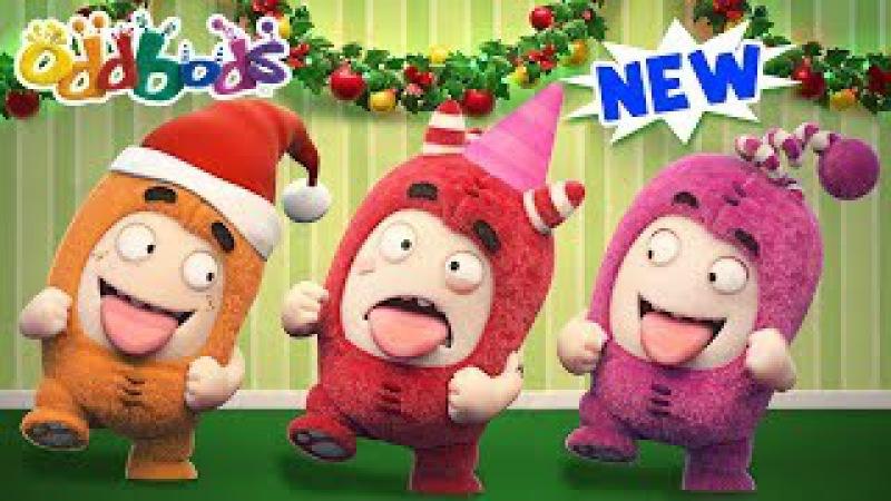 Oddbods NEW CHRISTMAS Episodes CHRISTMAS PARTY Oddbods Show Funny Cartoons For Children