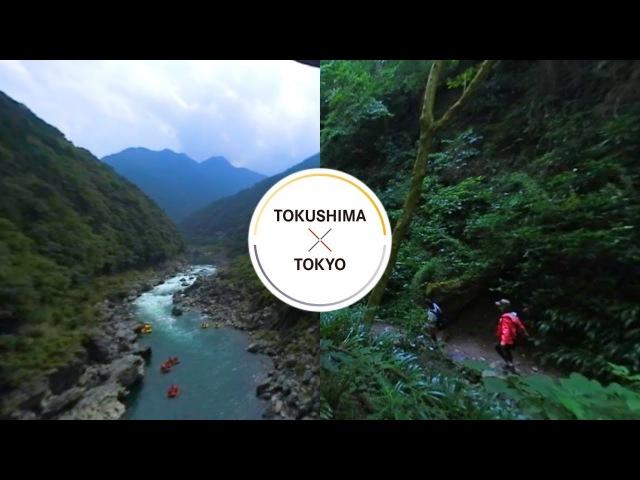 360° CHUGOKUSHIKOKUxTOKYO - Nature TOKUSHIMA