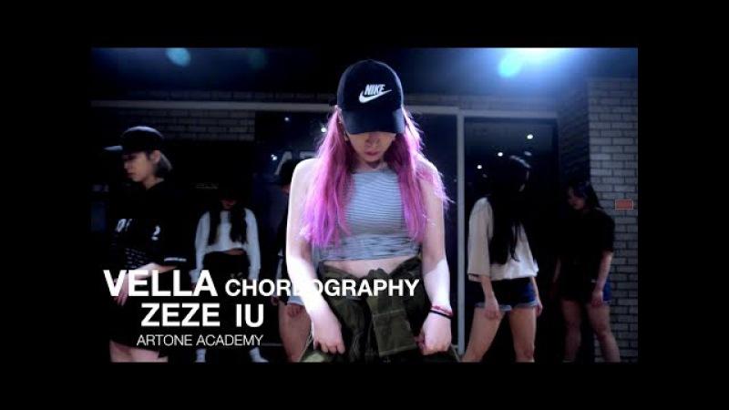 ZEZE - IU(아이유) / CHOREOGRAPHY BY VELLA / GIRLS HIPHOP CLASS / ARTONE ACADEMY