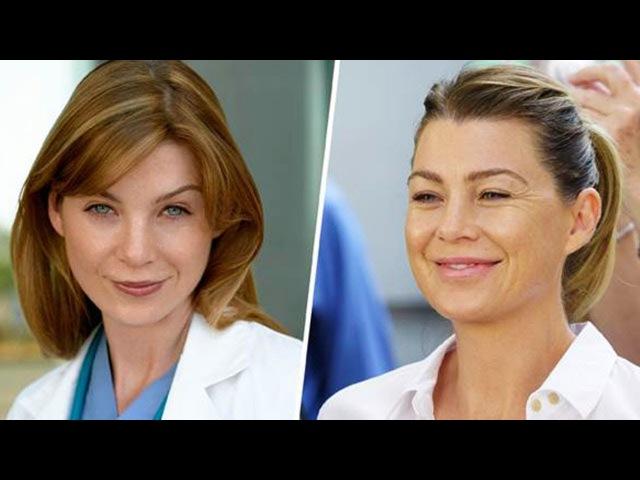 Анатомия страсти звезды тогда и сейчас (Grey's Anatomy)